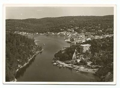 Greece Ionian Islands Paxi Paxoi Gaios General View Old Photo Postcard
