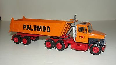 Conrad Freightliner Meiller Tipper Palumbo Tractor Trailer 1/50th NO RESERVE
