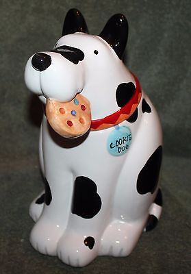 "Very Nice Cookie Dog Coco Dowley Cookie Jar 12 1/2"" Tall"