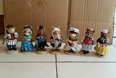 The Tales Of Honeysuckle hill Figures X 7