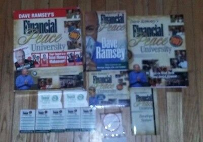 Dave Ramsey 2007 Financial Peace University Kit Workbook Books Cd System