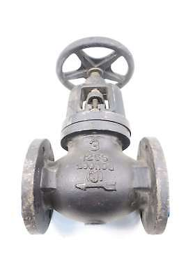 New Milwaukee 2981A 3 In 125 Iron Flanged Globe Valve D565884