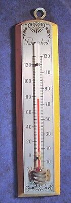 """Vintage Thermometer - """"Farenheit"""" - Made In U.S.A."""