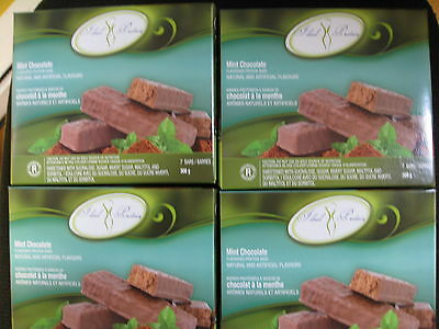 Ideal Protein Mint Chocolate Protein Bars (4 Boxes Of 7)
