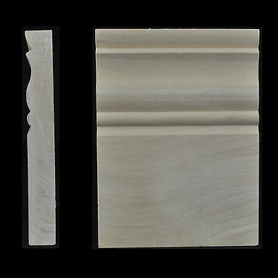 "3/4"" x 4-1/2"" x 6"" Hardwood Plinth Block"