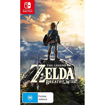 The Legend of Zelda: Breath of the Wild - Switch - BRAND NEW