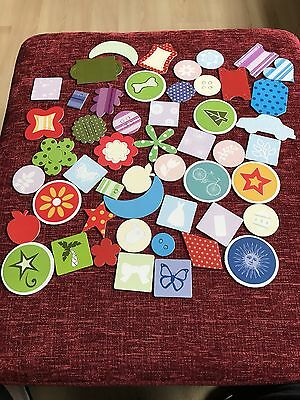 Chipboard Shapes - 50 Assorted