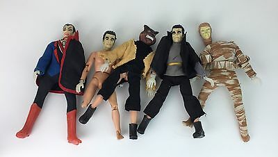 Mego Mad Monsters Lot Of 4