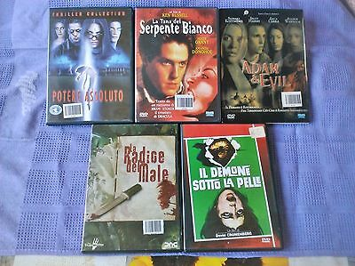 Dvd Lotto 5 Film  (Horror)