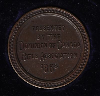 Dominion of Canada Rifle Association, 1868 Medal