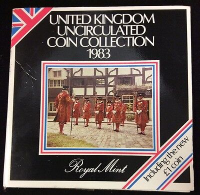 United Kingdom Uncirculated Coin Collection 1983 Royal Mint.   *d