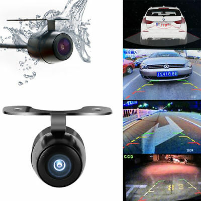 Waterproof Mini CCD Reverse Backup Car Front Rear View Camera Wide Angle