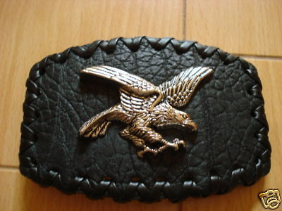 Western Eagle Belt Buckle Cowboy Rodeo  Leather Buckles