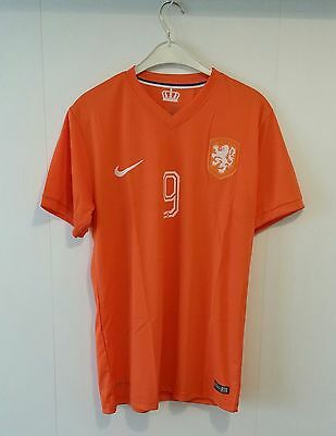 van Persie #9 Netherlands Holland XL Football Shirt Soccer Jersey Ajax Arsenal
