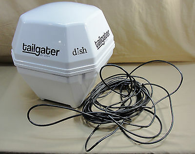 Dish Network Tailgater Portable Satellite Antenna Hd & Sd Rv Boat Camping