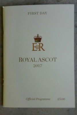 Royal Ascot Racecard First Day Tuesday 2017