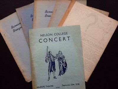Nelson College magazines 1930's And 40's