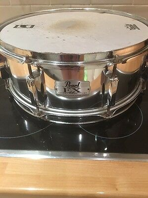 """Pearl 14"""" X 5 1/2"""" Wood Shell Snare Drum Cheap P&P"""