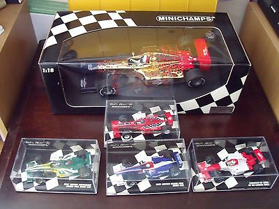 Commemorative Formula 1 Event Cars 1/18 and 1/43 scale