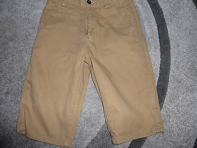 Boys *next* Chino Shorts. Tan Cotton, Age 12 Years Excellent Condition