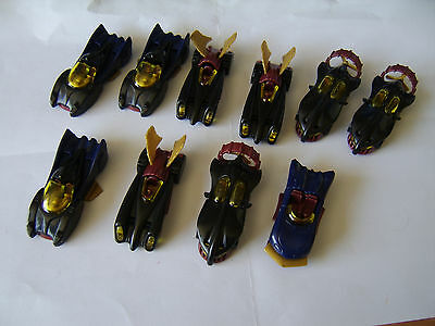 Vintage Kinder egg toys set of 4 Supermobile and 6 extras from 1998