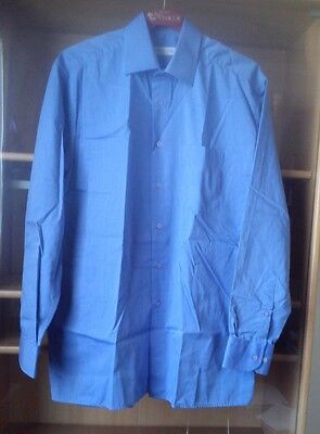 Chemise Bleu Homme Pierre CLARENCE - Col.39