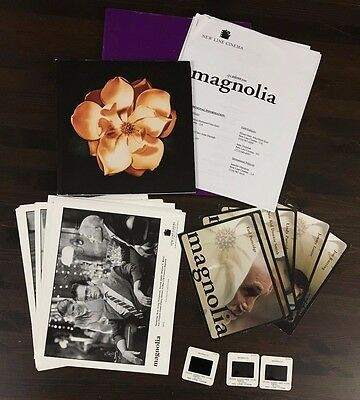 Magnolia - Press Kit - 3 slides & 16 photos! Tom Cruise & Julianne Moore!!