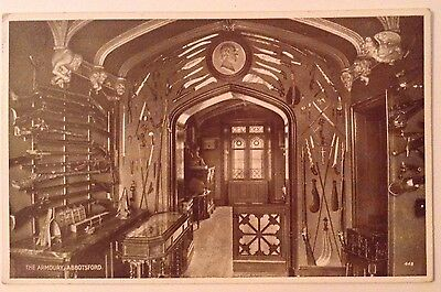 Vintage Postcard Of Scott's Abbotsford by Valentines of Dundee