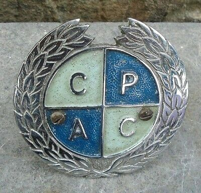 Vintage Car Badge C.p.a.c.