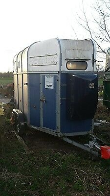 Rice Richardson Supreme Excell Rear Facing rice Horse Trailer not ifor williams