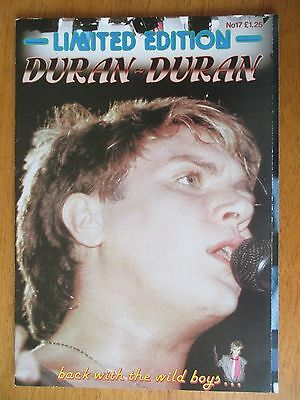 "Duran Duran Limited Edition no. 17 Glossy Magazine 11"" x 8"""