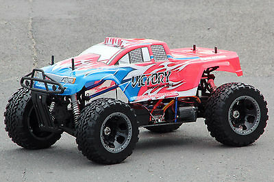 Xtc Rc Mega Monster Truck Brushless 4Wd 4X4 60Km/h Scale 1:5 + 2,4 Ghz Neu
