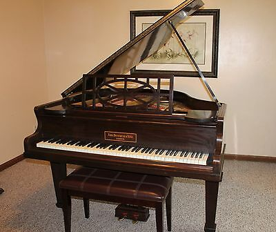 Antique John Brinsmead Parlor Grand Piano London For Kent & Cooper