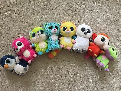 Beanie boo 6 inch soft toys (8 toys in total). Good condition.