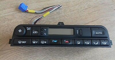 New Genuine Jaguar X300 Heater Air Conditioning Control Panel With Heated Screen