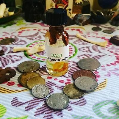 Bani Oil-Gypsy-Hoodoo-Wicca-Witchcraft-Fast Money, Emergencies, Luck, Prosperity