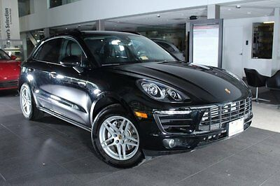 2017 Porsche Macan  2017 SUV Used Intercooled Turbo Premium Unleaded I-4 2.0 L/121 Automatic AWD