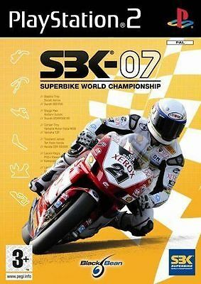 SBK 07 - PS2 Playstation 2 - Complete game,case & manual
