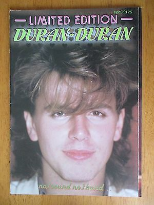 "Duran Duran Limited Edition no. 13 Glossy Magazine 11"" x 8"""