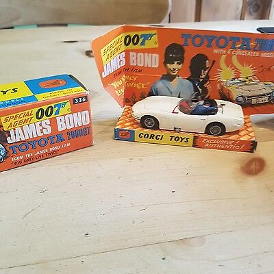 corgi 336 james bond toyota