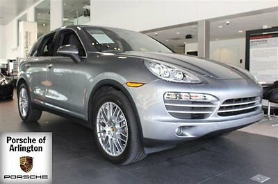 2014 Porsche Cayenne  2014 SUV Used Premium Unleaded V-6 3.6 L/220 6-Speed Manual w/OD AWD Gray