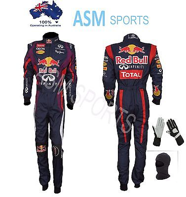 Go Kart Race Suit Red Bull CIK / FIA Level II (With Free gifts)