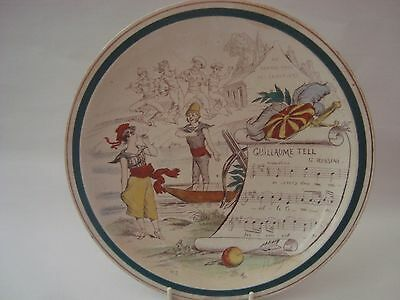 Guillame Tell French Plate