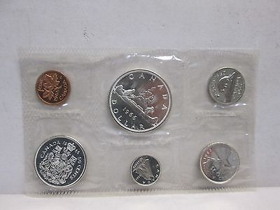 1966 Canadian Mint Uncirculated Coin Set- No Envelope