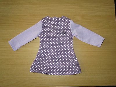 """Design a friend doll clothes long top/dress for an 18"""" tall doll"""