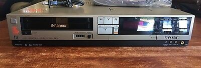 Vintage Sony Beta Betamax VCR Video Cassette Recorder SL-2400 PARTS OR REPAIR