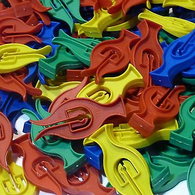 CYCLONE CLOTHES PEGS   PACKS OF  20 , 40 or 50   FOR WINDY WASHING LINES PLASTIC