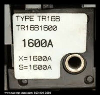 Ge / General Electric Spectra Rms Rating Plug 1600 Amp (2 Pk) #tr16B1600