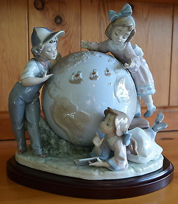 Lladro Voyage Of Colombus 5847 Figurine Mint And Boxed