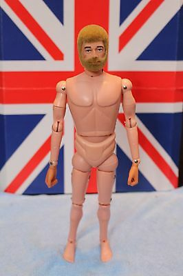 vintage action man blonde bearded